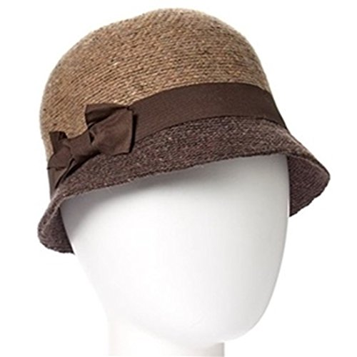 Winter Cloche Hat for Women Camel Cloche Hat 100% Wool Twenties Style Bell Cloche