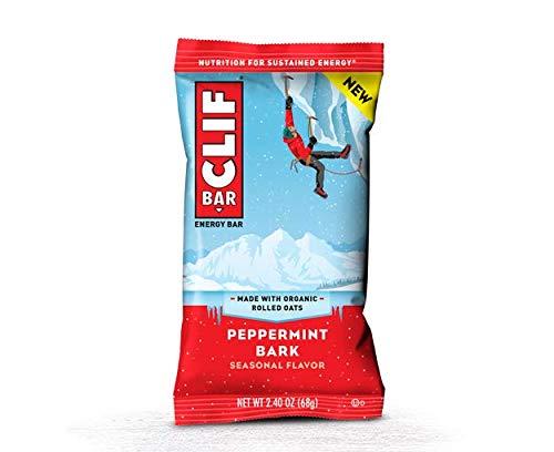 CLIF -Seasonal Energy Bar – Peppermint Bark – (2.4 oz, 12 Count)
