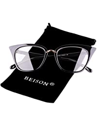 Womens Cat Eye Mod Fashion Eyeglasses Frame Clear Lens