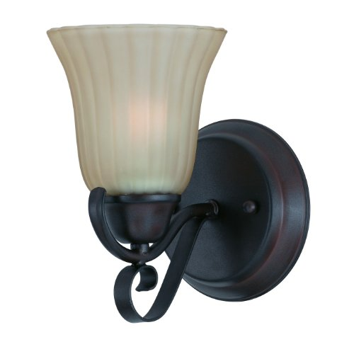 (Triarch 33270/1 Value Wall Sconce, Bronze)