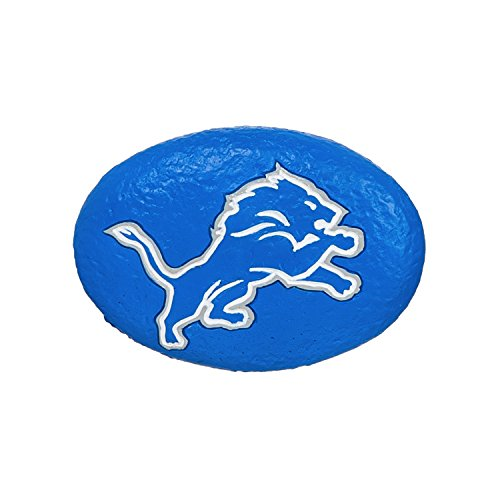 Team Sports America Detroit Lions Your Team Rocks Team Logo Garden Rock