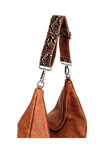Vendimia Elegante Flexible Camel Bandolera Idea Bag Mujer Tote Moda Estudiante Stile Angkorly De Shopper Borse Cabas Regalo Moderno Street Impresión Serpiente qaOWRwpvx