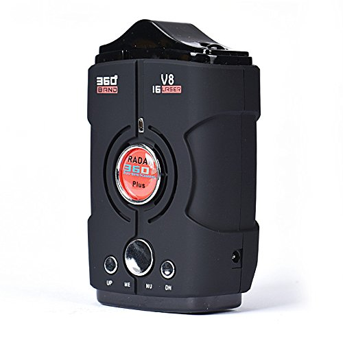 Detection Voice Alert Car Anti Radar Detector Fully Nine Bands Receiver.driving Safely And Avoiding Any Traffic Fine