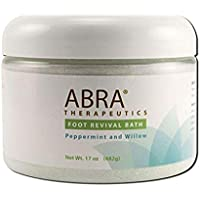 Foot Revival Bath Peppermint and Willow 17 Ounces
