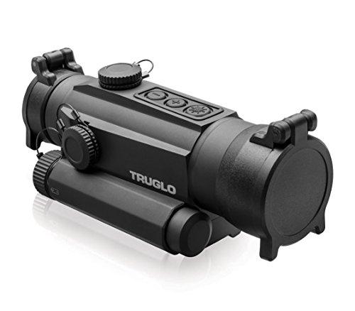 TRUGLO TRU-TEC 30mm Tactical Red Dot Sight, No Laser (Truglo Tru Brite Open Red Dot Sight)