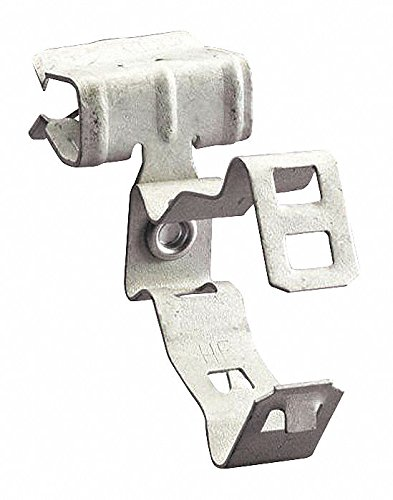 Conduit Clip, 1/2'', 3/4'' Nominal Conduit/Pipe, Spring Steel, 1 EA, Pack of 10