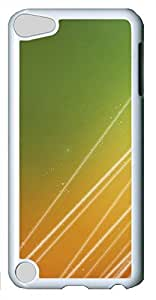 iPod Touch 5 Cases & Covers - Gorgeous Lines PC Custom Soft Case Cover Protector for iPod Touch 5 - White