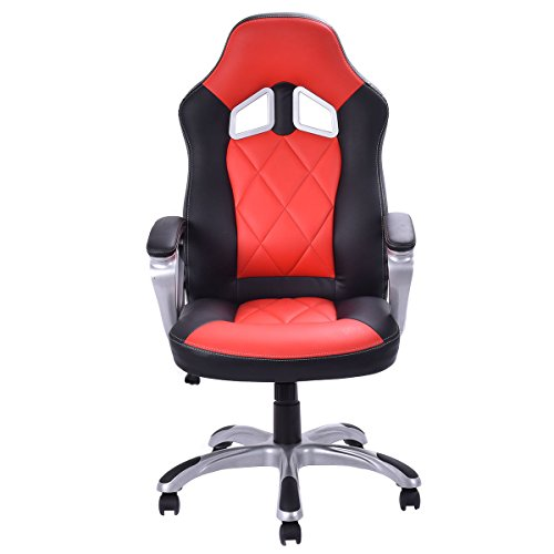 video game chair racing gaming chairs laptop computers race high back seat bucket kids adult. Black Bedroom Furniture Sets. Home Design Ideas