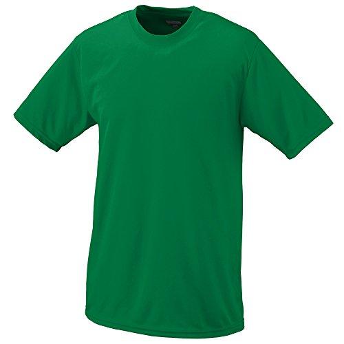 Augusta Sportswear Boys Wicking T-Shirt, Medium, Kelly - Kid Athlete Athletic T-shirt