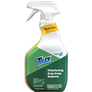Tilex Disinfecting Soap Scum Remover Spray, CloroxPro, 32 Ounces (35604) Packaging May Vary