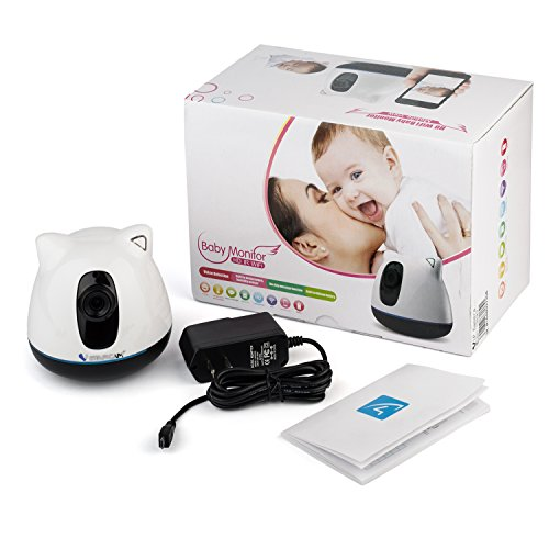 VStarcam C81 Baby Monitor, Nanny Cam HD 720P Wireless Camera, Two Way Audio, WiFi Wireless Network IP Security Surveillance Video Camera System with Invisible Infrared for Night Vision VStarcam