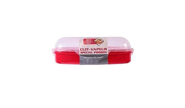 Recipiente para cocinar al vapor pescados y verduras en el ...