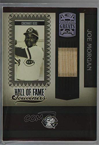 Joe Morgan (Baseball Card) 2005 Donruss Greats - Hall of Fame Souvenirs - Bats [Memorabilia] #HOFS-19
