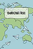 Burkina Faso: Ruled Travel Diary Notebook or Journey  Journal - Lined Trip Pocketbook for Men and Women with Lines