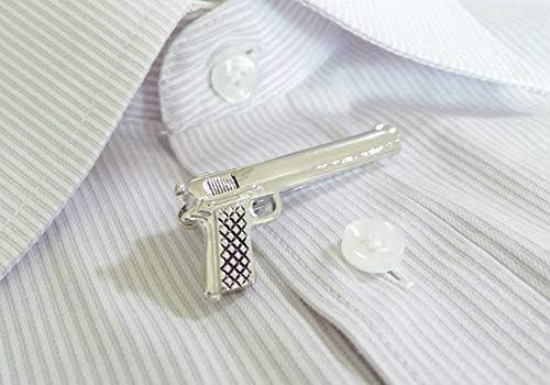 Salutto Tie Bar Mens Tie Clip Special Shape Shirt Tie Bar Clip