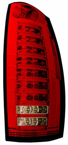 IPCW LEDT-360CR Ruby Red Fiber Optic and LED Tail Lamp - Pair
