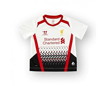 designer fashion 51926 ff7a2 Warrior Liverpool 2013/14 Junior Minikit from outside, White ...