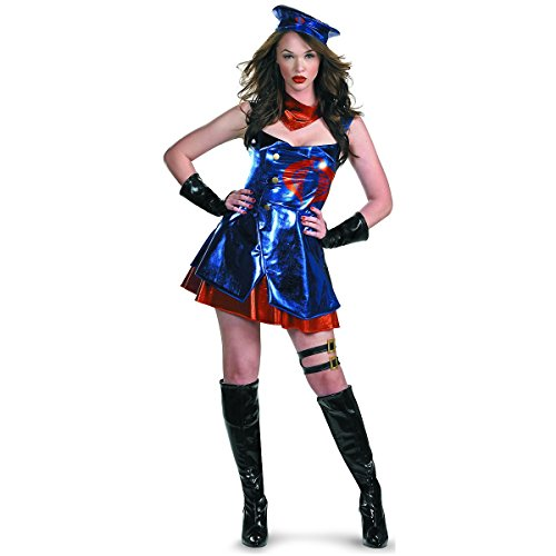 Sassy Cobra Commander Deluxe Costume - Small - Dress Size -