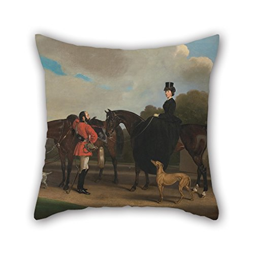 [Cushion Cases 18 X 18 Inches / 45 By 45 Cm(both Sides) Nice Choice For Bedding,sofa,teens,birthday,outdoor,kids Room Oil Painting William Barraud - Lord And Lady] (Oriole Bird Costume)