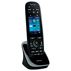 Logitech Harmony Ultimate All in One Remote with Customizable Touch Screen and Closed Cabinet RF Control - Black