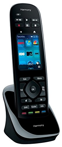 Logitech Harmony Ultimate All in One Remote with Customizable Touch Screen and Closed Cabinet RF Control – Black