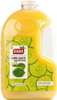Badia Lime Juice 128 oz