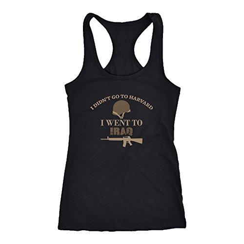Iraq veteran Racerback Tank Top T-Shirt. Funny Iraq veteran Tank. Cool Shirt for Iraq veteran (S)