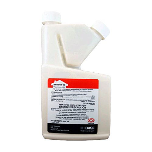 TERMIDOR SC 20oz Labeled for Termites and ANTS