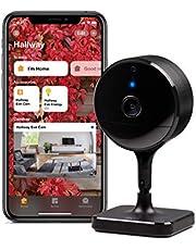Eve Cam - Beveiligingscamera voor binnen, complete privacy, veilige video in HomeKit, meldingen op iPhone, iPad en Apple TV, bewegingssensor, microfoon en speaker, herkenning van personen, huisdieren en voertuigen, flexibele installatie