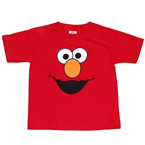 me Street Elmo Face Infant T-Shirt-18 Months (Elmo Birthday Shirt)
