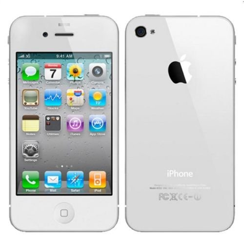 Newest Apple iPhone 4 MD200LL/A 8GB White For Verizon (No Contract) Sealed