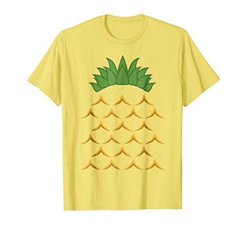 Pineapple Halloween Costume Party Fruit T-Shirt