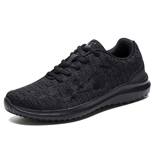 G GEERS OS002L Women Fashion Sneakers Lightweight Sport Shoes All - Black G All