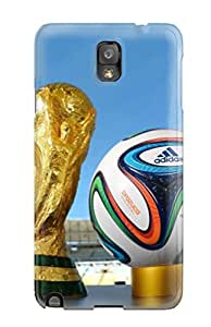 Pretty HRkIDiE6329alKPt Galaxy Note 3 Case Cover/ 2014 Fifa World Cup Trophy Series High Quality Case