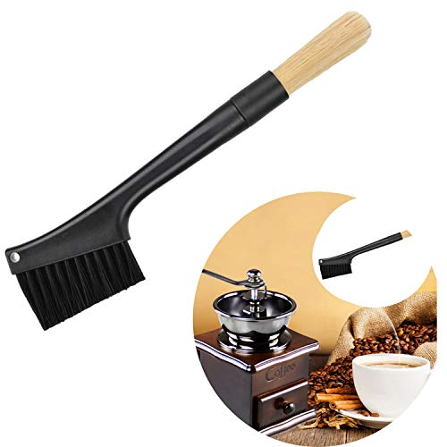 - WedFeir Coffee Grinder Cleaning Brush with Two Head, Dusting Espresso Brush Accessories for Bean Grain Coffee Tool Barista Home Kitchen.
