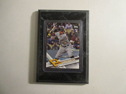 (Chris Bostick Pittsburgh Pirates Topps 2017 Update Series player card mounted on a 4
