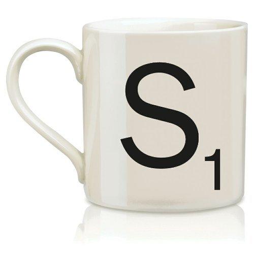 Scrabble Mug - Letter S