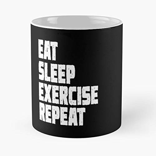 Eat Sleep Exercise I Love Pop Culture Birthday Best Gifts