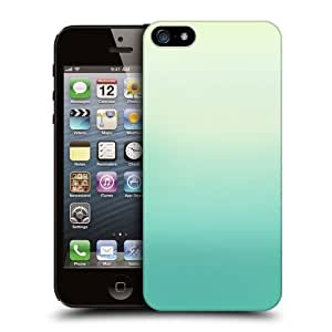 Head Case Designs Green Ombre Protective Snap-on Hard Back Case Cover for Apple iPhone 5 5s