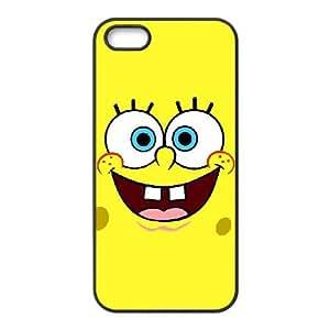 iPhone 4 4s Cell Phone Case Black Sponge Bob hfqa