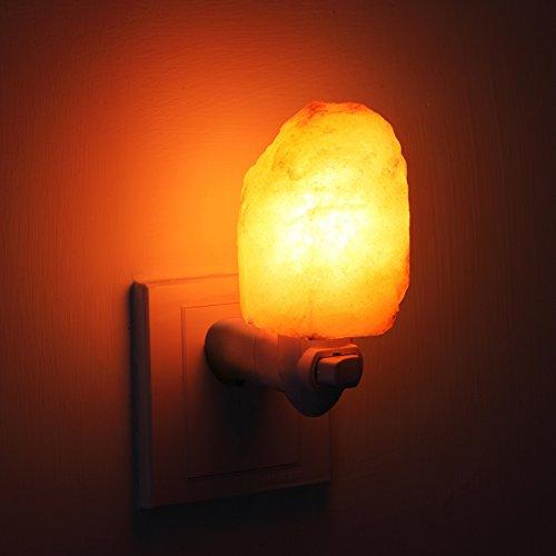 Salt Lamps Bayswater : AMIR Salt Lamp, Natural Himalayan Salt Rock Lamp, Mini Hand - Import It All