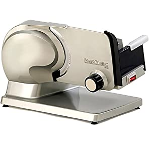 Chef's Choice 615 Premium Electric Food Slicer & Chef's Choice, Includes: Serrated & an Extra #S610001 Ultra Fine Blade, Non-Serrated Blade (Bundle)