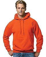 Hanes Men's ComfortBlend Pullover Hoodie Sweatshirt (2 Pack),Orange,S US