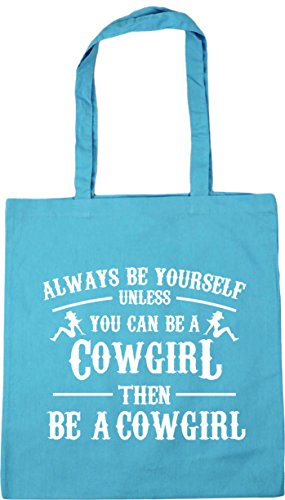 Tote litres x38cm then you Blue Shopping a cowgirl Surf 10 HippoWarehouse unless be yourself 42cm can be Gym a Bag be cowgirl Beach Always n1qOH