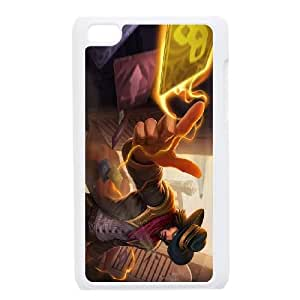 Twisted Lol Fate League Of Legends Ipod Touch 4 Case White JN00C456