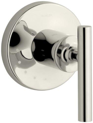 KOHLER K-T14490-4-SN Purist Volume Control Valve Trim, Vibrant Polished Nickel