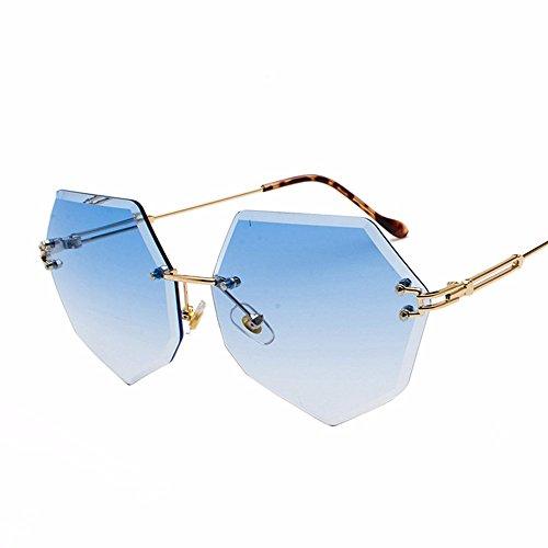 Cadre sans Intellectuality Cristal Blue Coupe Chip Lunettes UqIH6