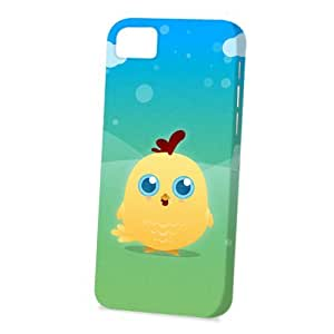 Case Fun Apple iPhone 5 / 5S Case - Vogue Version - 3D Full Wrap - Yellow Chicken by DevilleART