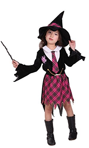 stylesilove Little Girls Magician Halloween Costume Party Dress