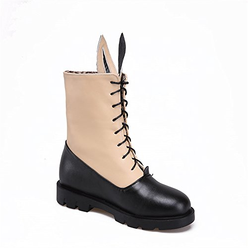 Fashion HeelMid-calf Boots - Botas mujer albaricoque